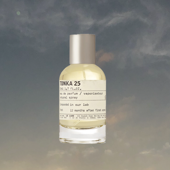 I HAVE TO SAY THAT   TONKA 25 BY LE LABO   IS AT THE MOMENT THE HIGHEST UP ON MY WISHLIST. I LOVE A SWEET SCENT, BUT THIS ONE IS SUBTLE AND GROWN UP, TOO. IT'S MUSKY, DARK AND WARM AND I JUST REALLY WANNA BUY IT. - J