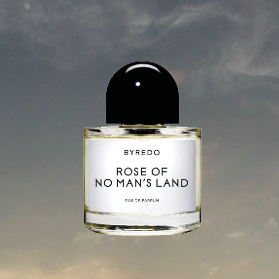 ROSE OF NO MAN'S LAND BY BYREDO   IS MY SIGNATURE SCENT FOR A FEW YEARS NOW - AND THERE IS NOTHING LIKE OPENING A NEW BOTTLE. I LOVE HOW THE PINK PEPPER AND TURKISH ROSE PETALS UNFOLD AND IT'S FRUITY BUT ALSO AIRY. IT ALSO HAS RASPBERRY BLOSSOMS (ONE OF MY FAVORITE MEMORIES AS A KID IS BERRY PICKING KN MY GRANDMA'S GARDEN WITH HER) AND WHITE AMBER. I GET ASKED SO MUCH ABOUT THIS SCENT (BUT I THINK EVERYONE WHO WEARS BYREDO DOES), THE SCENTS ARE NOT ONLY EXTREMELY SPECIAL BUT LONG LASTING AND INTENSE WITHOUT BEING OVERPOWERING. - T