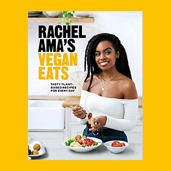 I'M GONNA ADMIT, I'M OBSESSED WITH   RACHEL AMA  . SHE'S NOT JUST OUT OF THIS WORLD PRETTY AND SEEMS LIKE THE GIRL YOU ABSOLUTELY WANNA BE FRIENDS WITH (CHEESY, I KNOW - BUT JUST FOLLOW HER AND YOU WILL SEE), BUT HER RECIPES INSPIRE ME A LOT. I'M ON A JOURNEY TO EAT A LOT MORE PLANT BASED AND HER RECIPES MAKE IT A LOT EASIER, SO YES - I CAN'T WAIT TO GET MY HANDS ON IT.  J