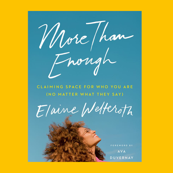 I'VE BEEN FOLLOWING ELAINE FOR A WHILE ON INSTAGRAM AND I WAS OVER THE MOON WHEN I HEARD SHE'S PUBLISHING HER BOOK   MORE THAN ENOUGH   I PRE-ORDERED RIGHT AWAY. IT'S ALL ABOUT HER OWN JOURNEY AND EXPERIENCES AND HOW SHE BREAKS BARRIERS ON SO MANY LEVELS (SUCCESS, RACE, FEMINISM, ETC) - THIS WILL BE SUPER INSPIRING AND I ALREADY KNOW, I WILL GIVE THIS AS A GIFT TO MANY WOMEN AROUND ME.  J