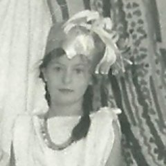 "Emily Wilson as Athena, age 8. (see "" Growing up with the  Odyssey  ,""  The Paris Review , August 7, 2017)"