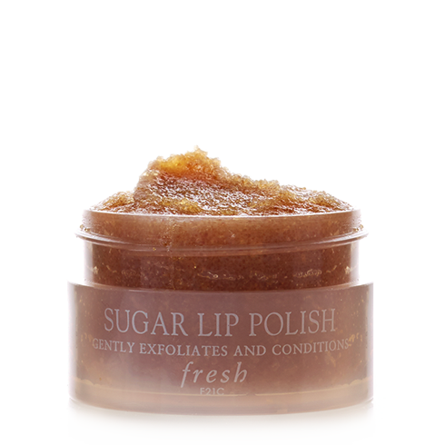 FRESH SUGAR LIP POLISH - Sugar Lip Polish gently exfoliates and conditions, leaving lips incredibly soft and smooth. Brown sugar crystals, natural humectants that prevent moisture loss, buff away dry flakes while shea butter and jojoba oil nourish the skin.Brown sugar crystals, natural humectants that prevent moisture loss, buff away dry flakes.Shea butter and jojoba oil nourish the skin.Massage a small amount onto the lips. Rinse with a damp washcloth. Can be used 2 to 3 times a week.