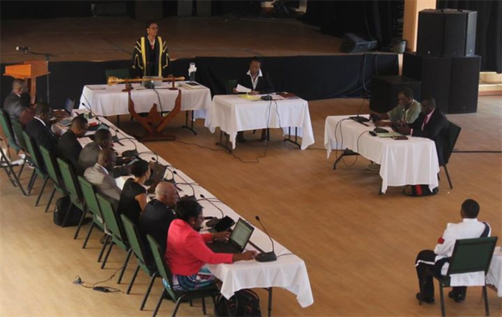 Meeting of Montserrat's Legislative Assembly