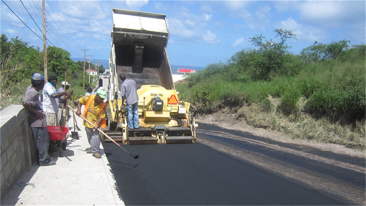 Brades section of the A1 Road Project