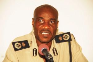 Commissioner of Police Steve Foster