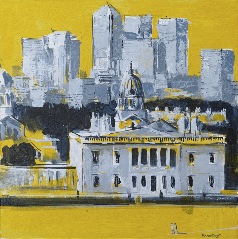 Canary Wharf from Greenwich - sold
