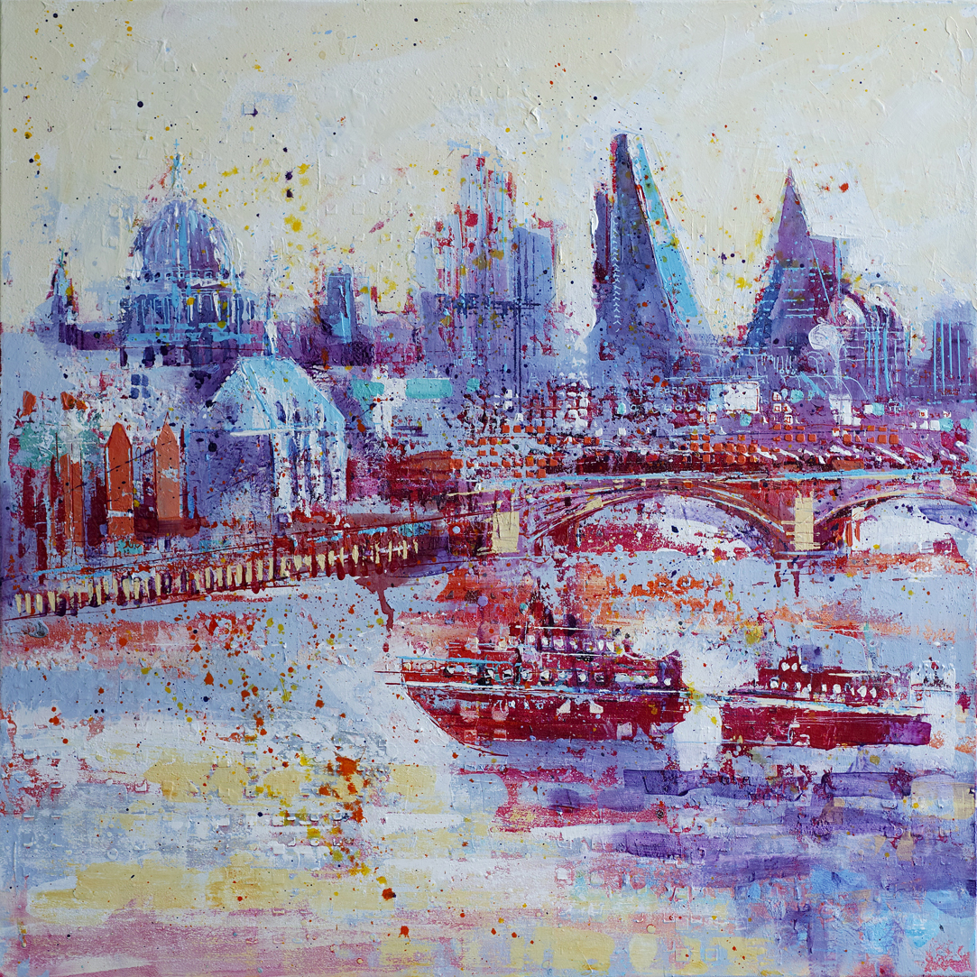 The river and the City - £1700.00