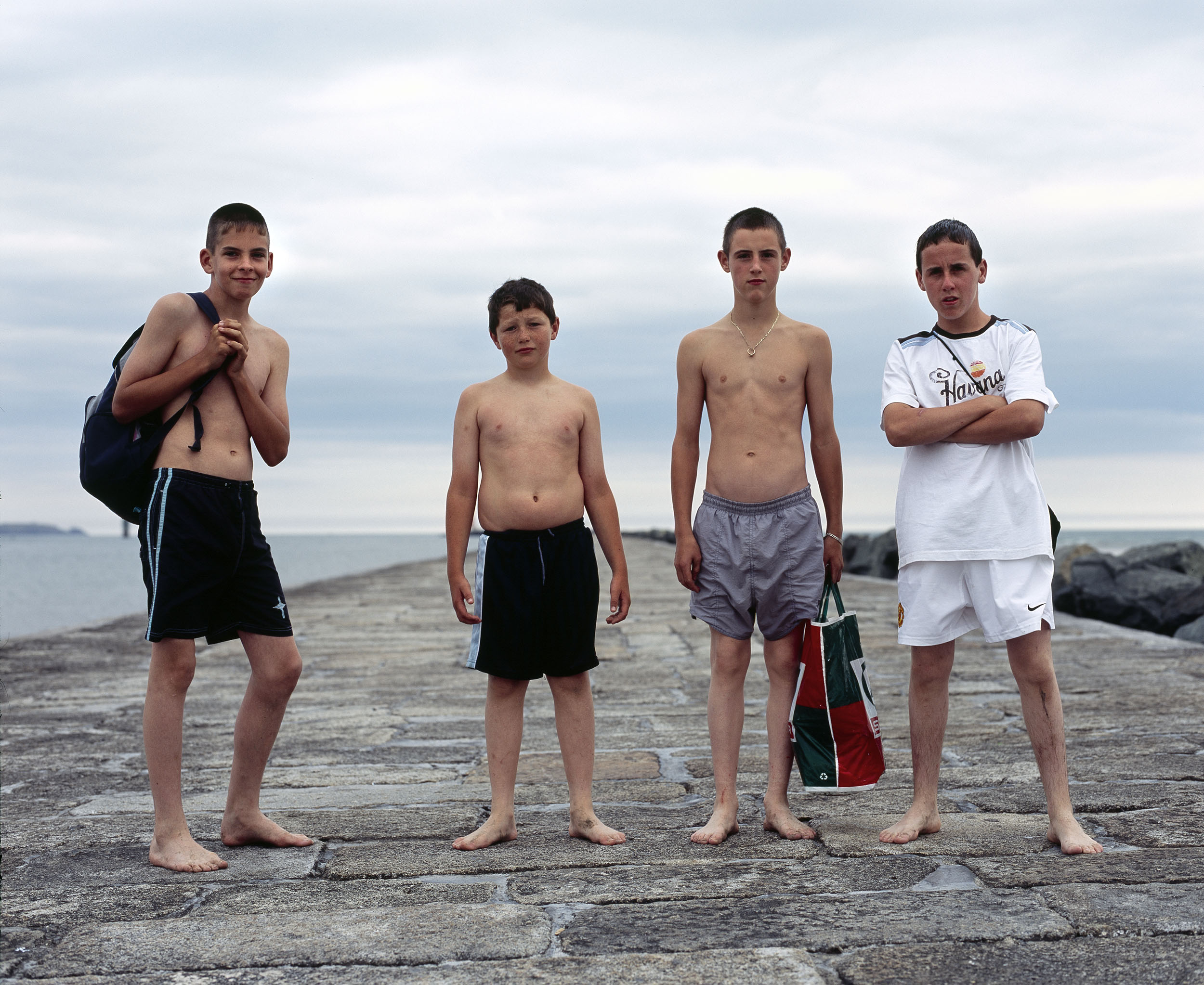 Swimmers, Great South Wall