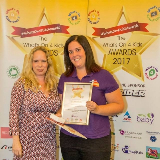 Highly Commended: Becky MacLean from Kidslingo Frenchtastic Spanishtastic