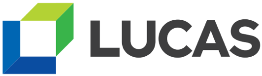 Lucas logo Built for Marketing