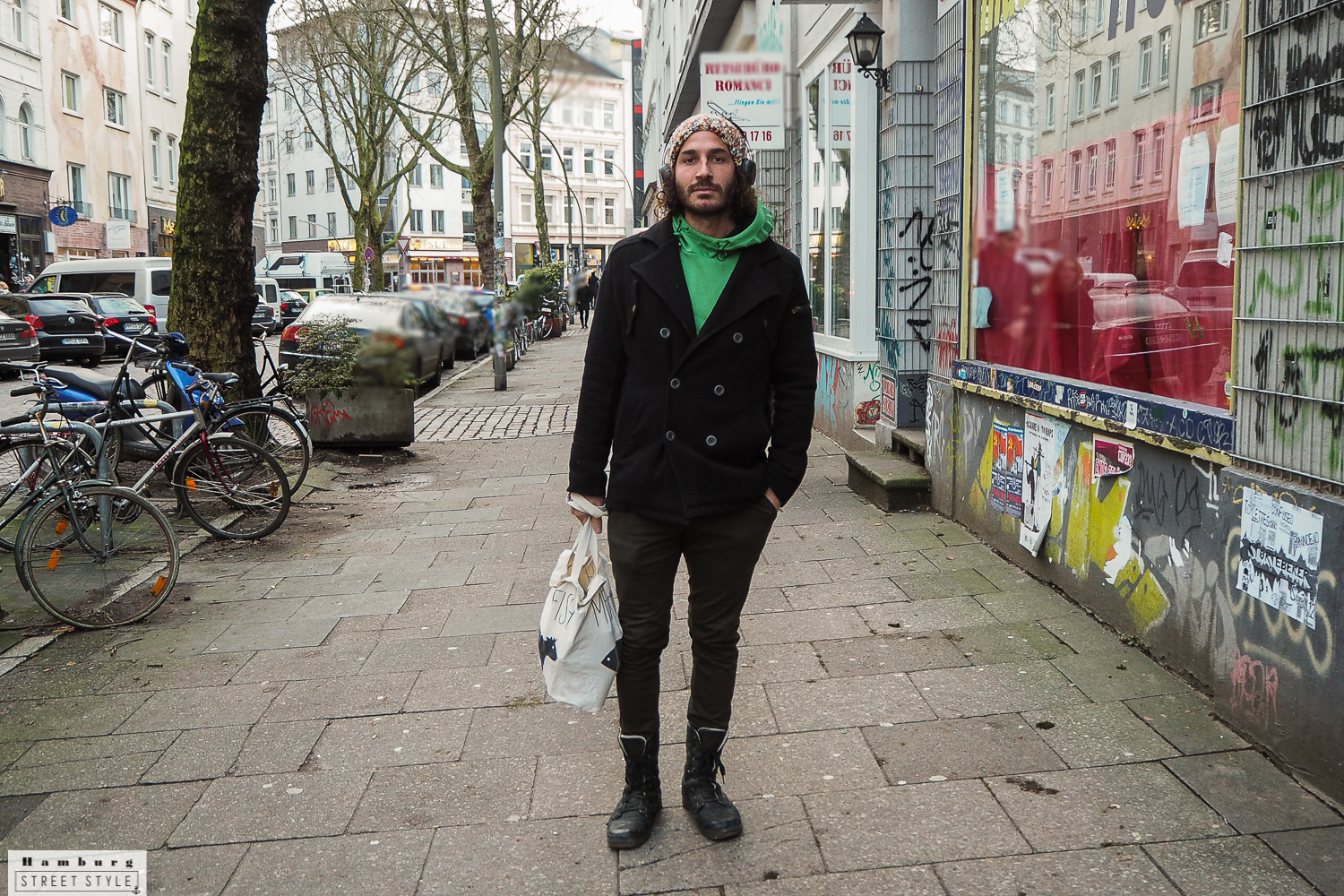 Hamburg Men Streetstyle Winter