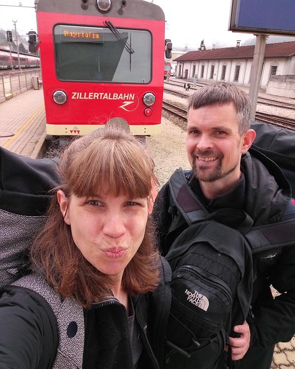ab Jenbach geht es alle 30 Minuten nach Mayrhofen