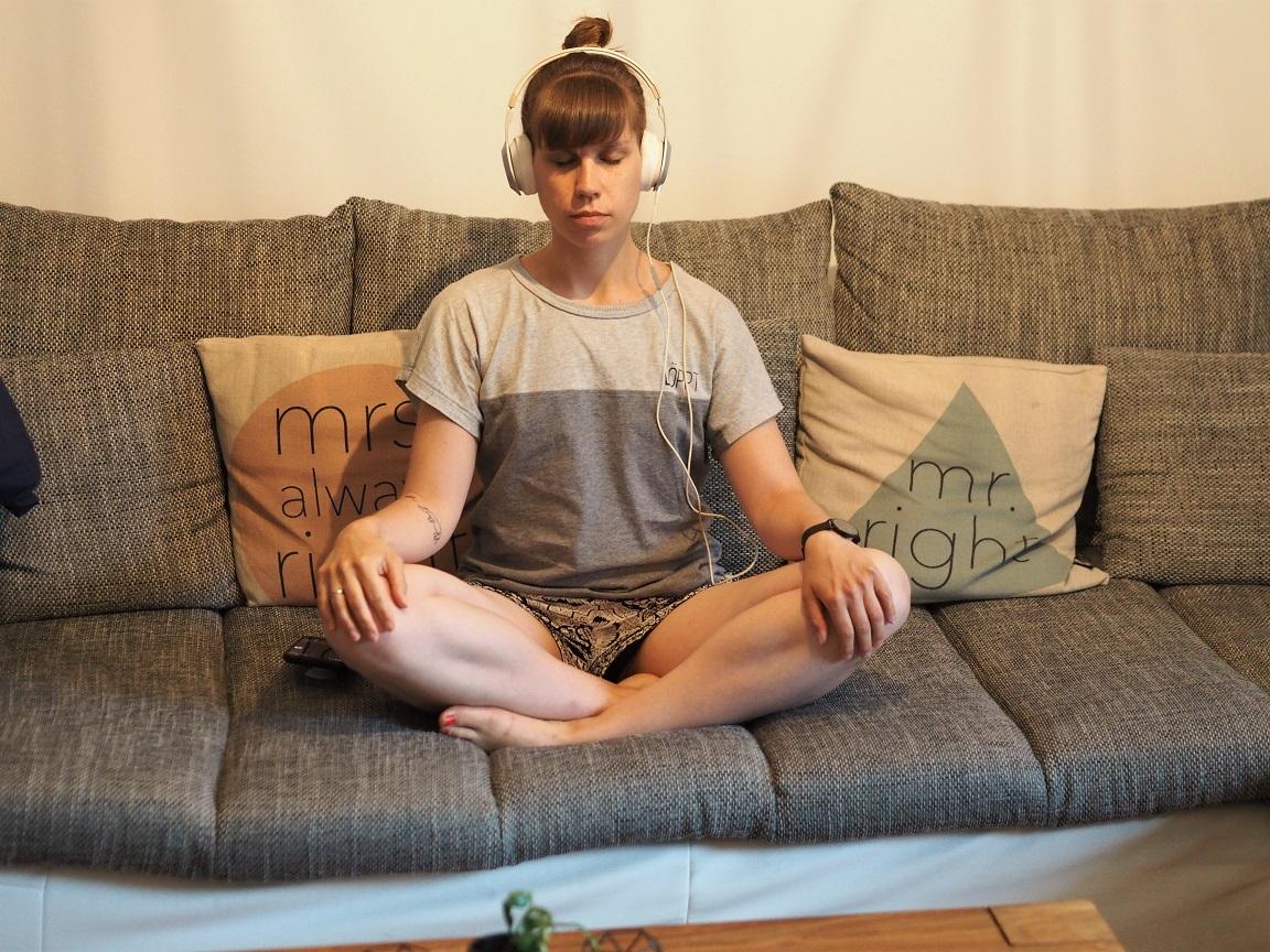 Meditation kann wahre Wunder bewirken. Einfach mal ausprobieren ;)