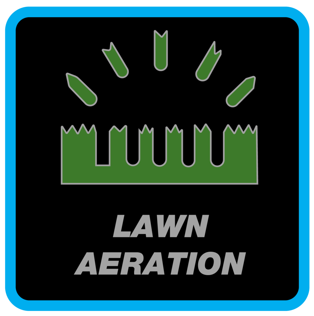 "Lawn Aeration Services - Lawn Aeration (also known as ""Core Aeration"") is the process of mechanically puncturing holes into the soil of your lawn."