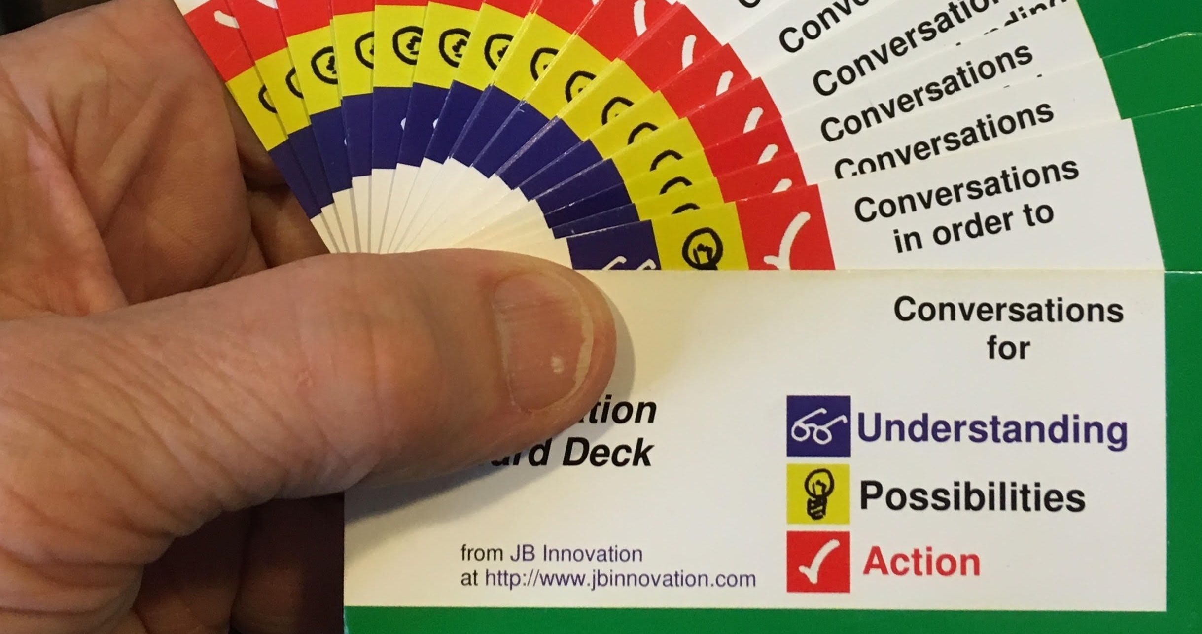 Innovation Tools - The Innovation Card Deck, MyMap, Personal Scorecard and other tools support individual and group innovation.