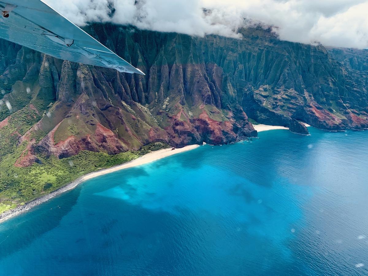 Na Pali Coast via Air - Hawaii
