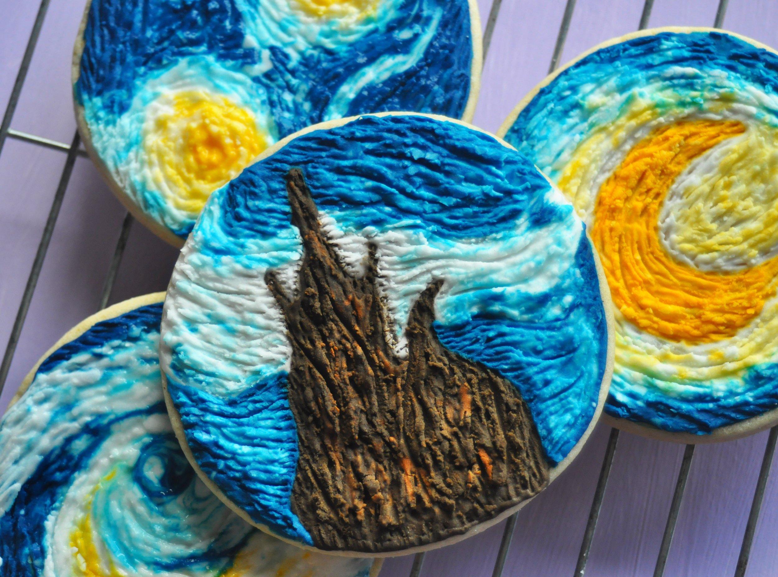 Van Gogh Cookies