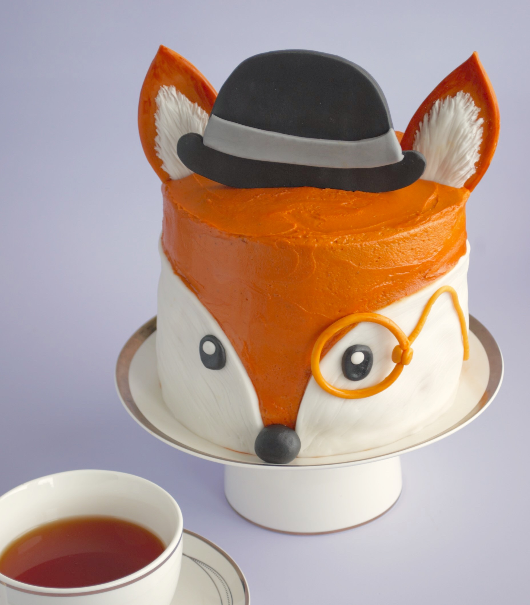 How To Make An Adorable Fox Cake Icing Insight