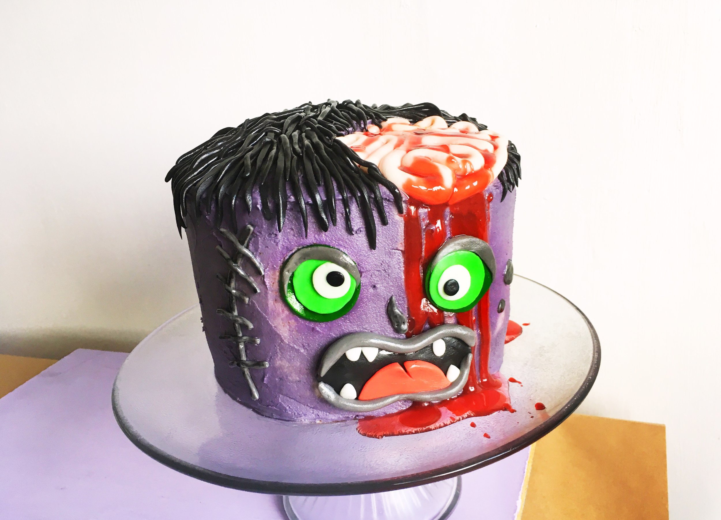 How To Make An Amazing Halloween Monster Cake