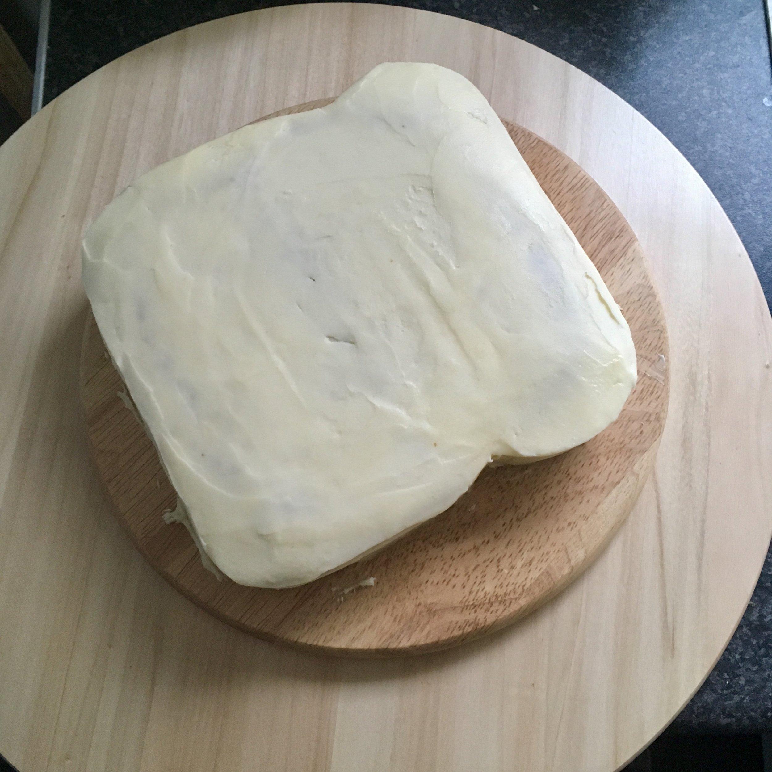 Toast shaped Cake