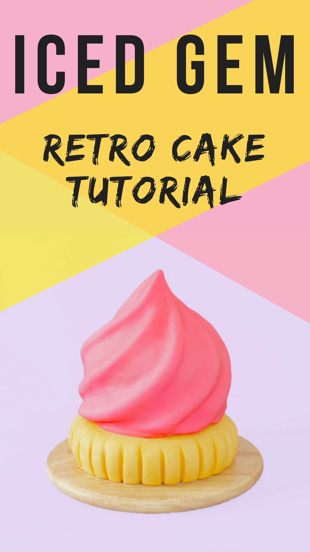 Retro Iced Gem Cake Tutorial