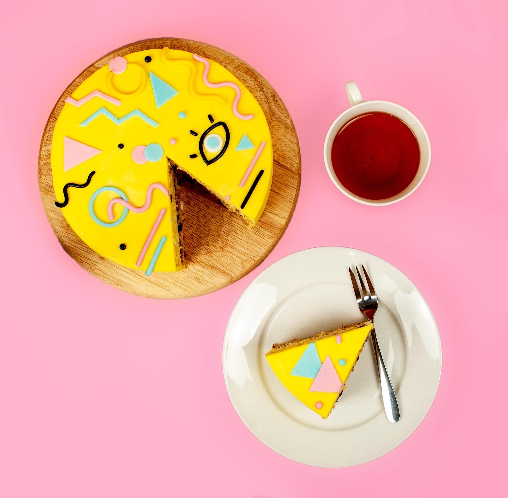 The Ultimate 90's Cake DIY