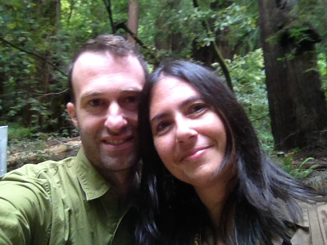(Aaron and Lisa hiking a few years back.)