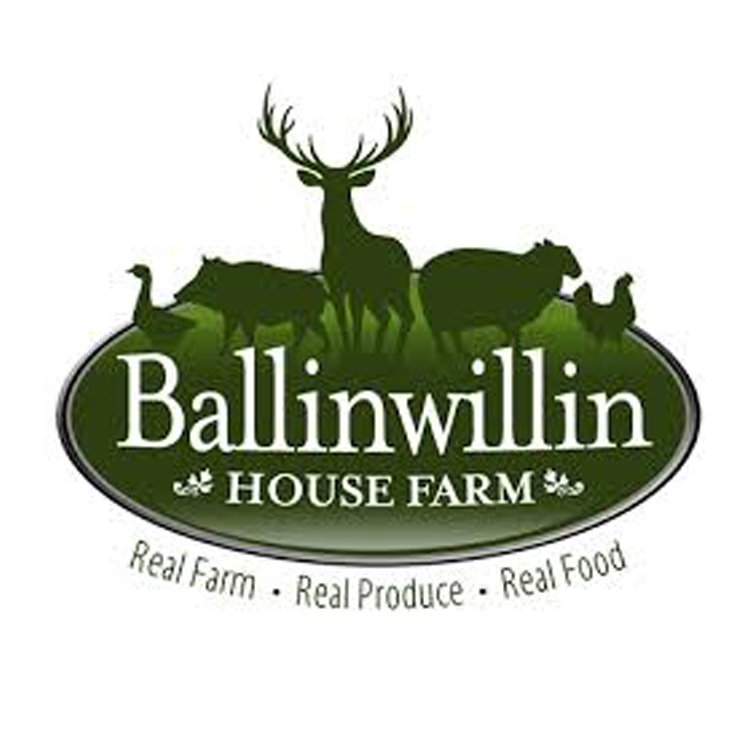 Ballinwillin House Farm   Set in 80 acres of rich pastureland in the heart of the south of Ireland's most fertile region (the Golden Vale), Ballinwillin House, Wine Cellar & Farmyard.    Website