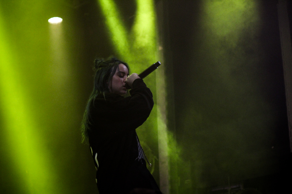 Billie Eilish performs at the All Things Go Fall Classic 2018