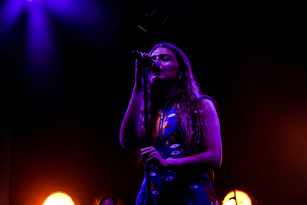Maggie Rogers performs at the All Things Go Fall Classic 2018