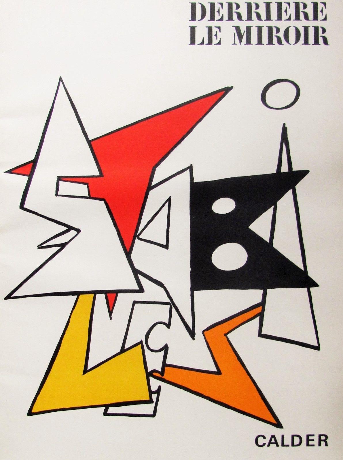 Alexander Calder Derriere Le Mirioir