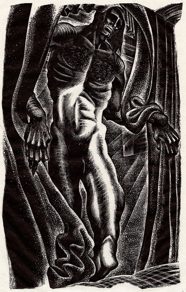Lynd Ward Frankenstein