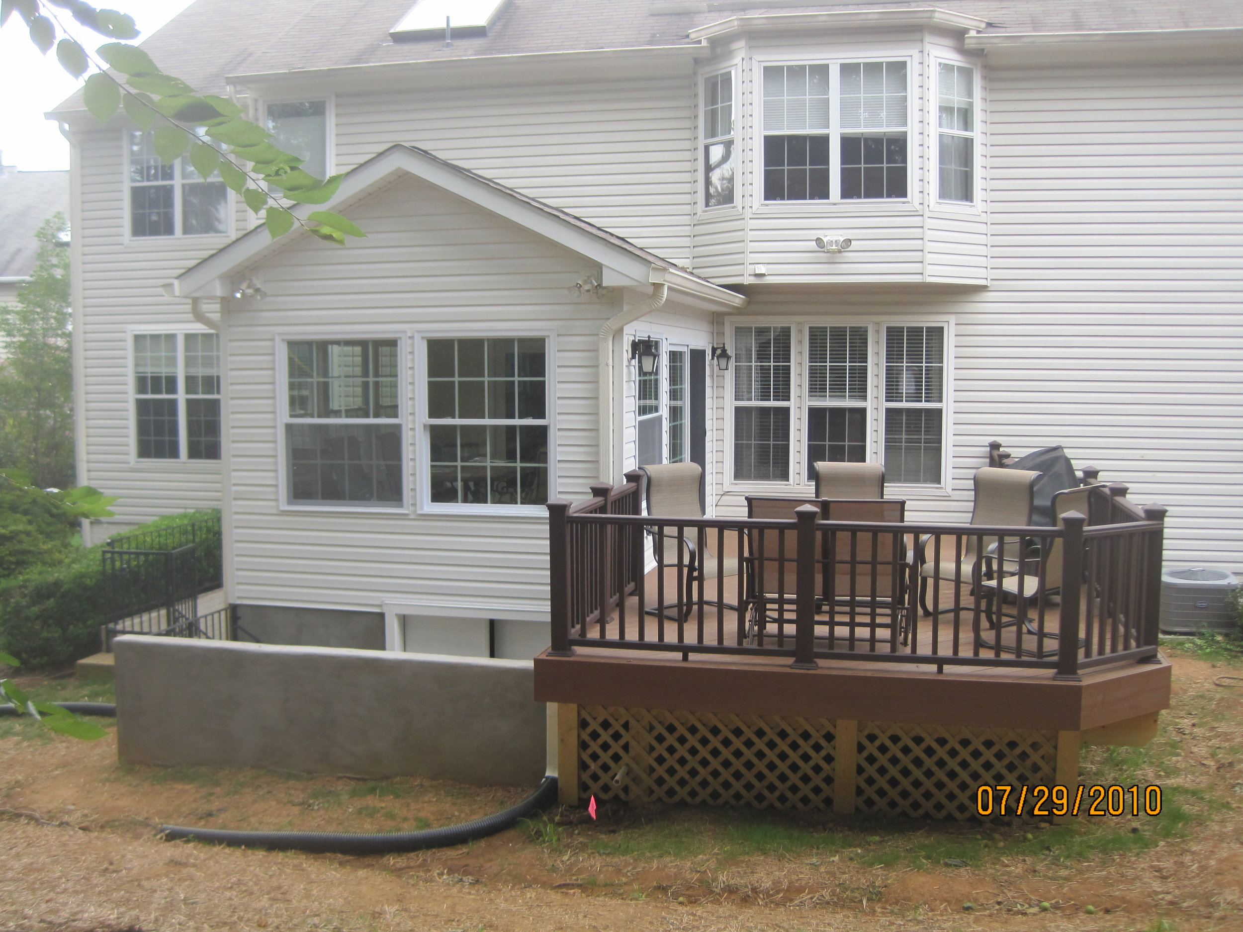 Sunroom & Deck - ASHBURN VA