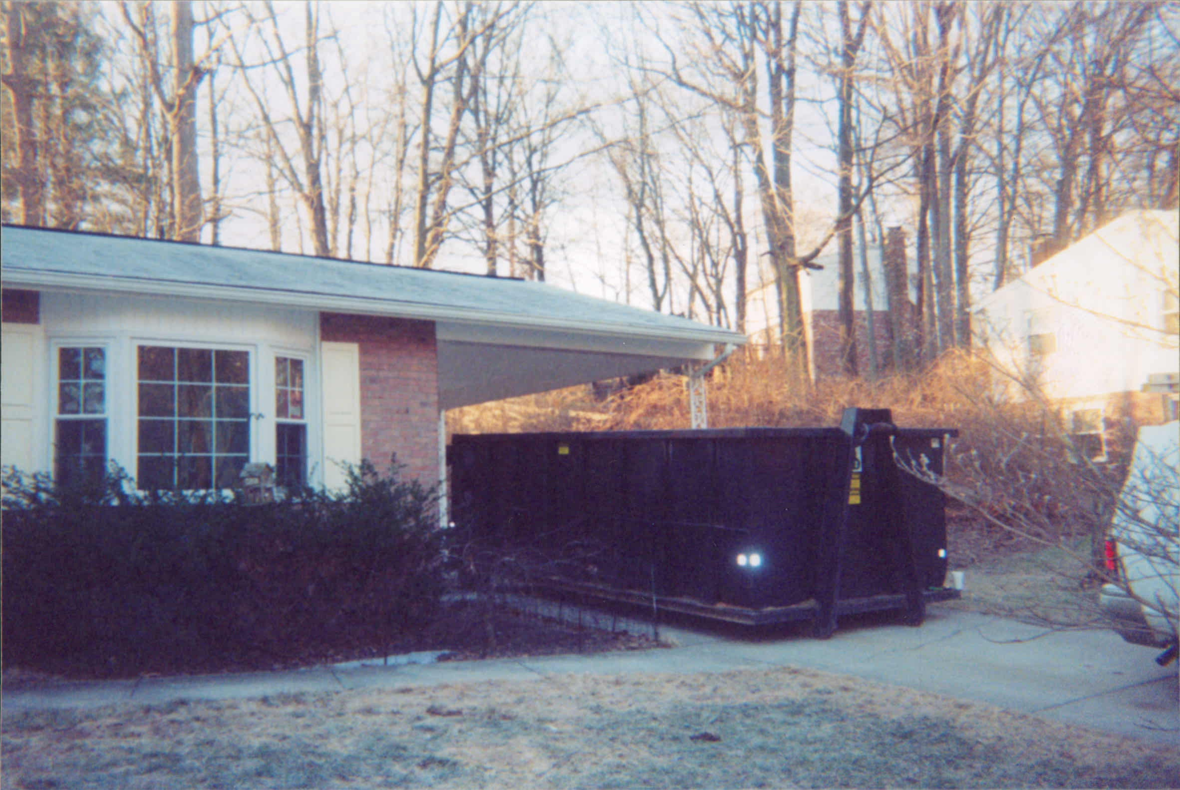 Garage (Before) - SPRINGFIELD VA