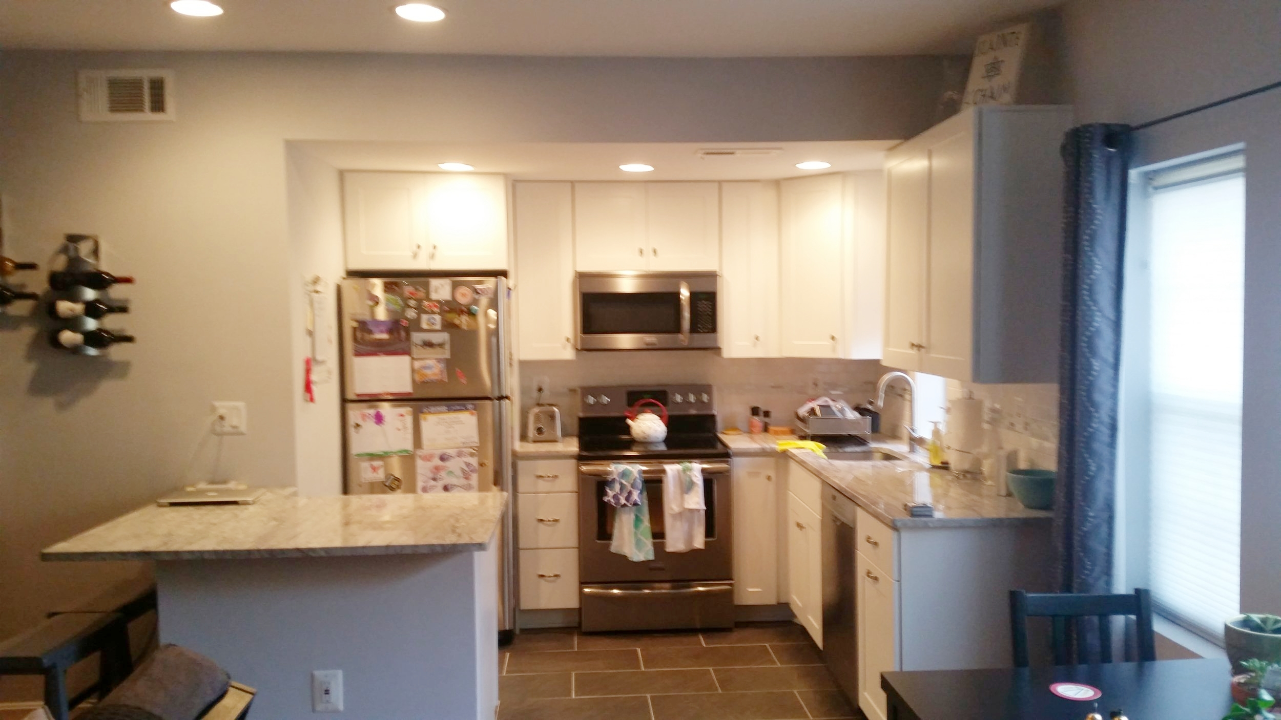 Condo Kitchen Expansion - CLARENDON VA