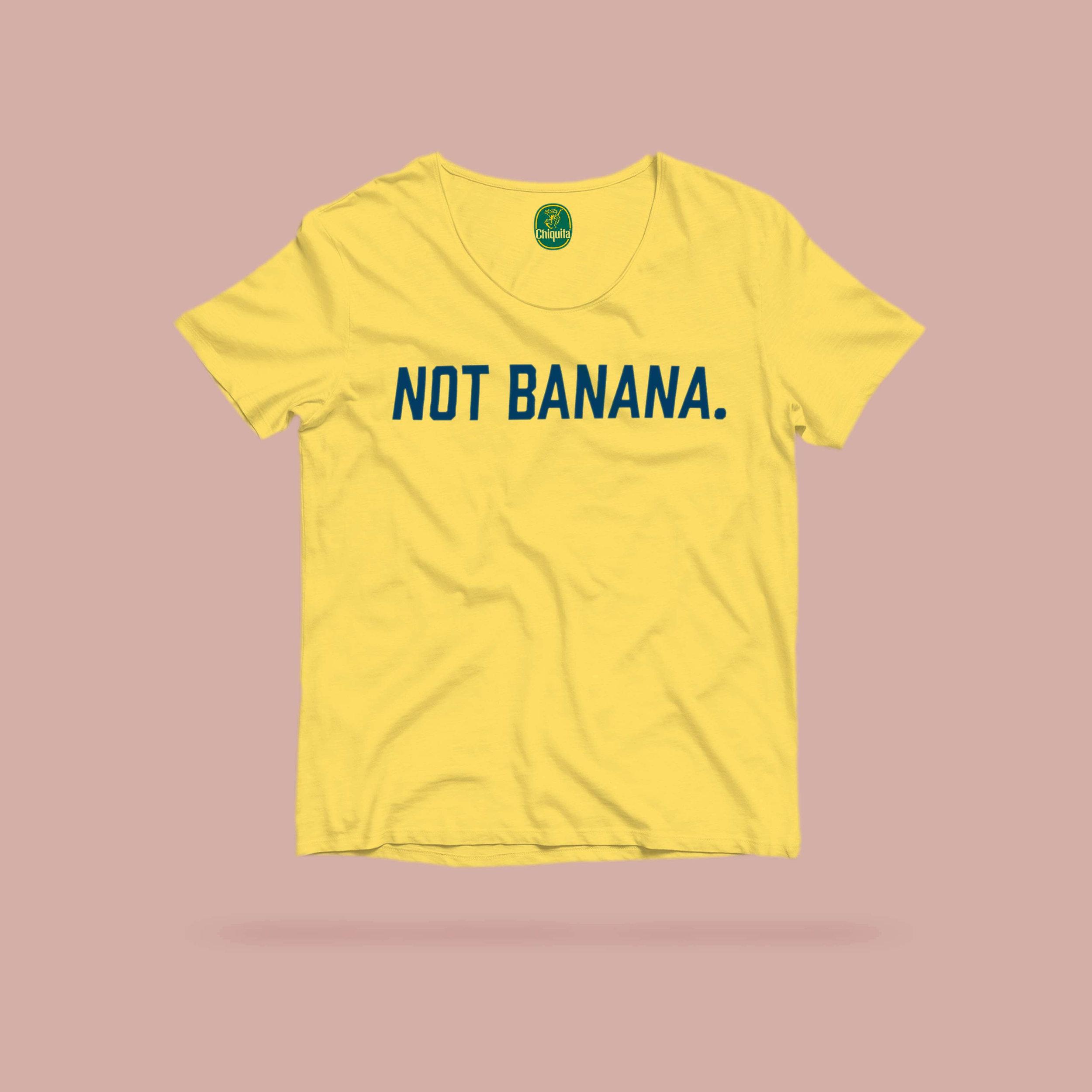 "Not banana shirt, especially for people named ""Hannah"" or ""Anna"""