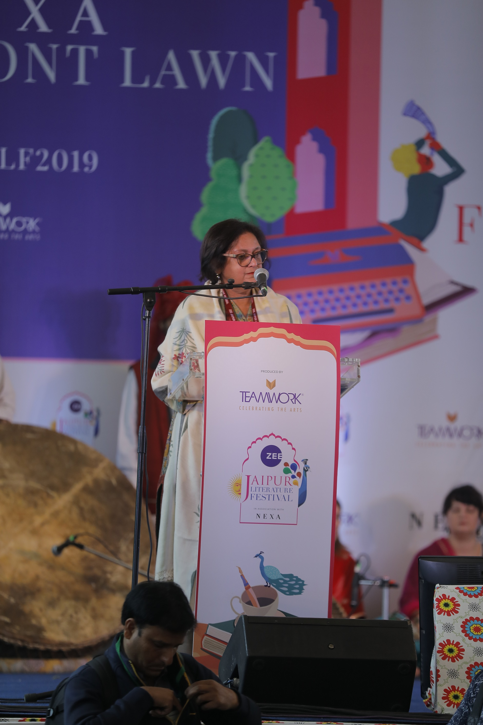 Day 1_Inaugural Session_Imagining Our Worlds_Opening Address_Festival_coDirector_Namita Gokhale.JPG