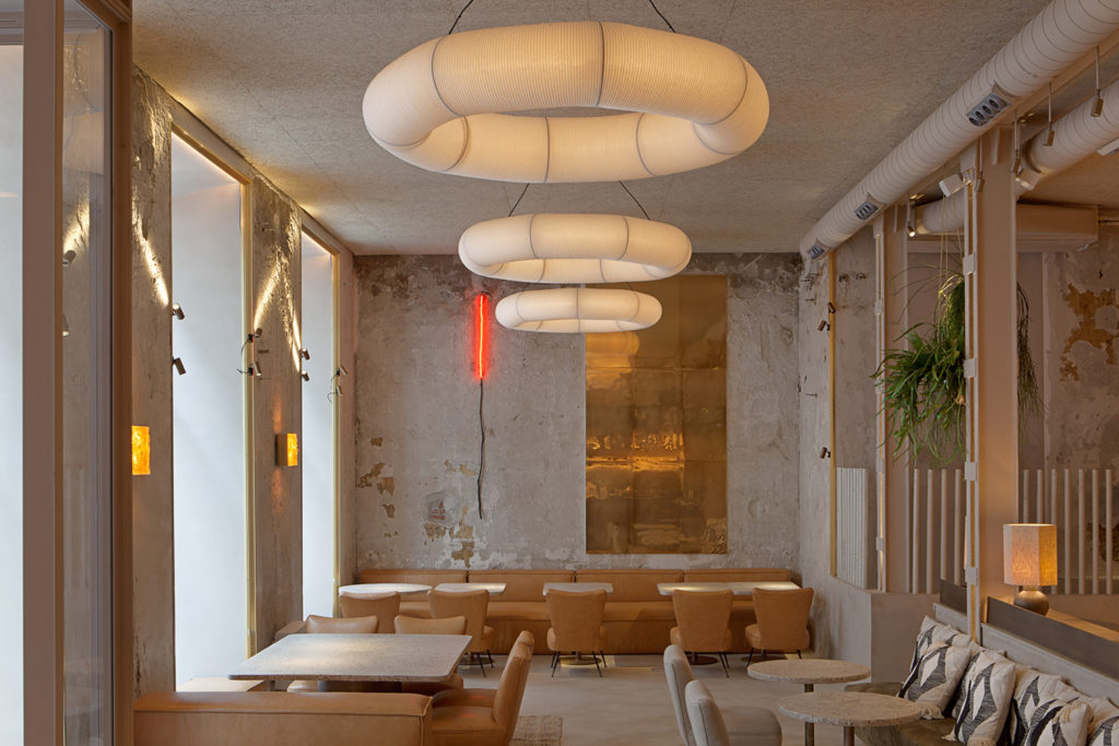 THE SPACES  - New avocado-inspired restaurant in Madrid