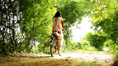 "Pedal=Sight  (5.5 min)  ""For many children in the West, usually a bicycle is little more than a toy. For Bharati it is a means to an education, a means to a better future, and a tool to achieve what women in her mother's generation could not. Bharati wants to change her world with a little help from her own two wheels."""