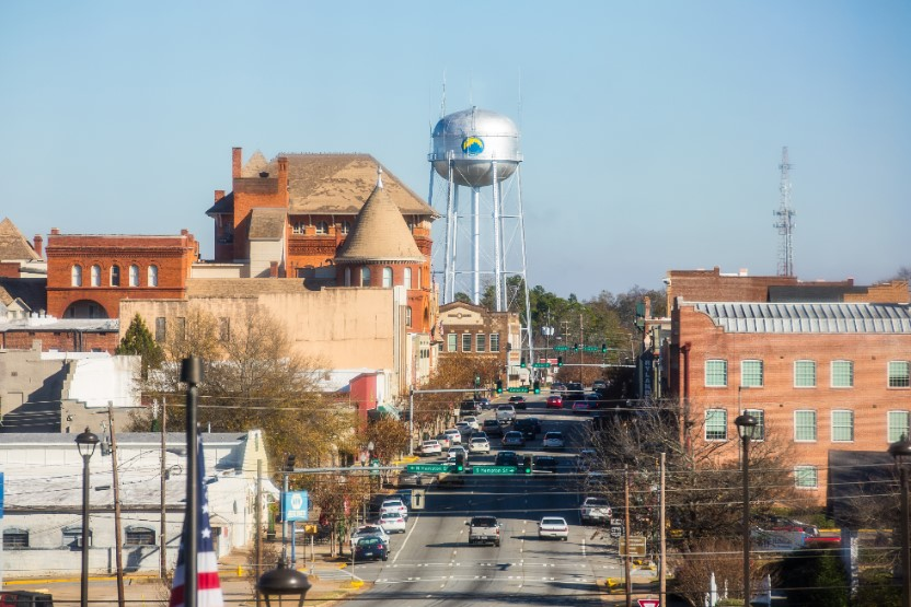 DOWNTOWN AMERICUS, GEORGIA