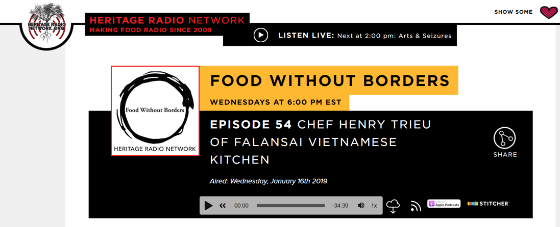 Food Without Borders-Heritage Radio-Falansai-Vietnamese-Kitchen-Chef Henry Trieu-New York-Jan 16 2019.png