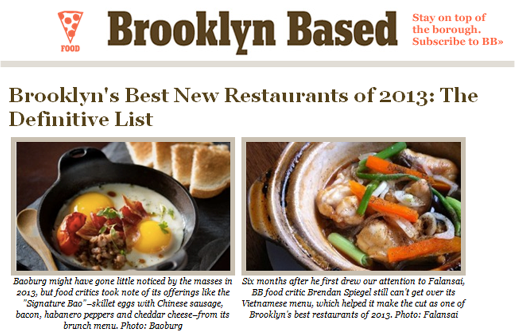 BrooklynBased Best New Restaurants 2013 Falansai Vietnamese Kitchen.png