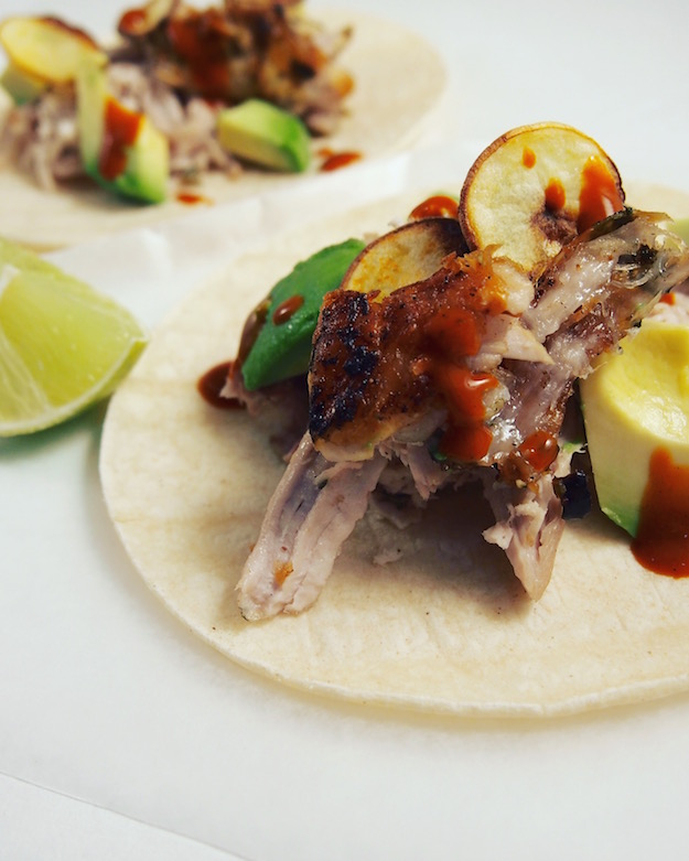 Registered Dietitian Nutritionist recipe for herb marinated pork tacos