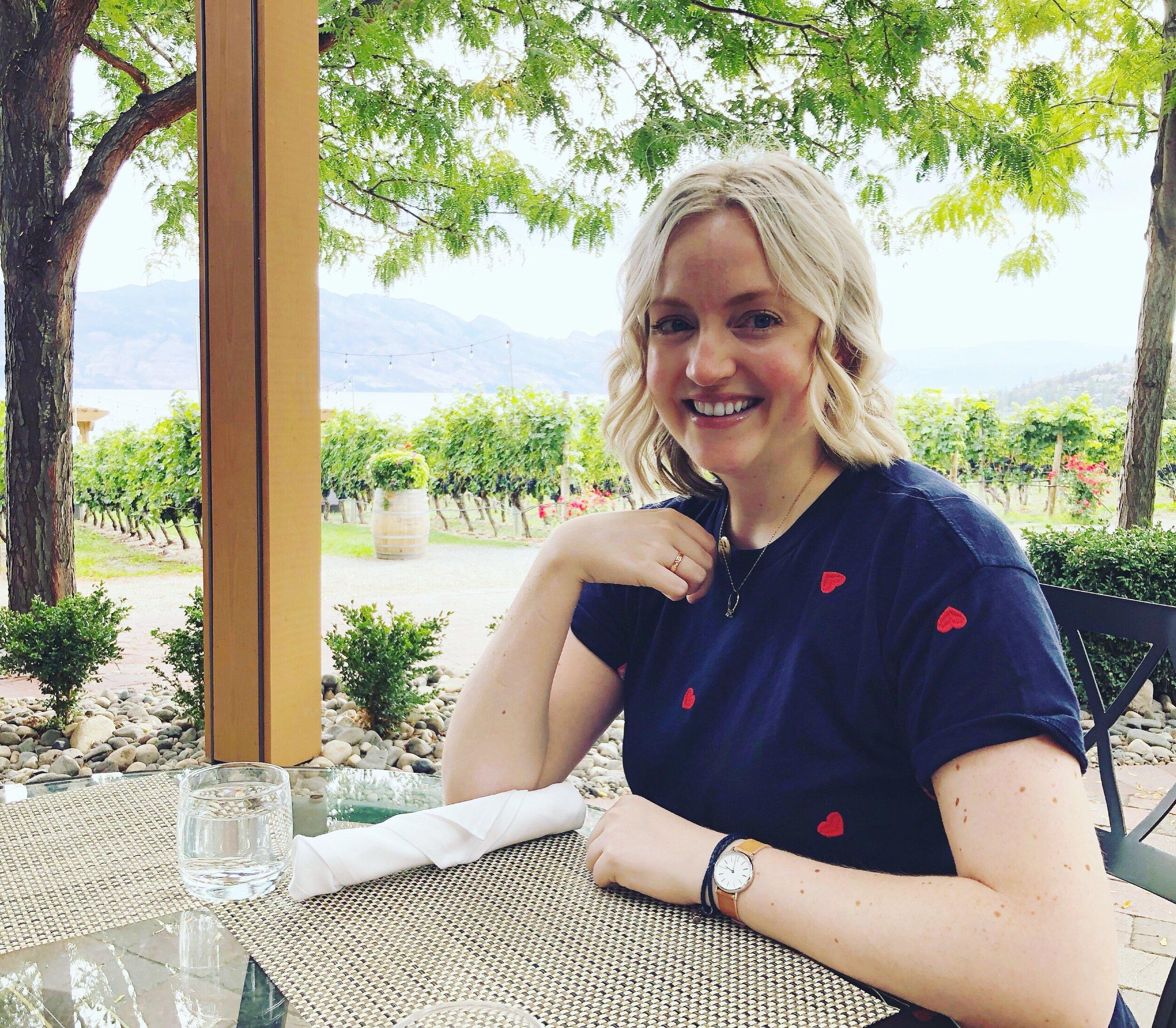 Registered Dietitian Nutritionist. Okanagan wine weekend. 2019.