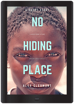 short story no hiding place black Haitian boy on ebook cover