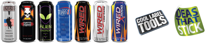 3D digital product renderings and animation for drink brands, logos, packaging, ads, sales sheets, POS materials, website and marketing