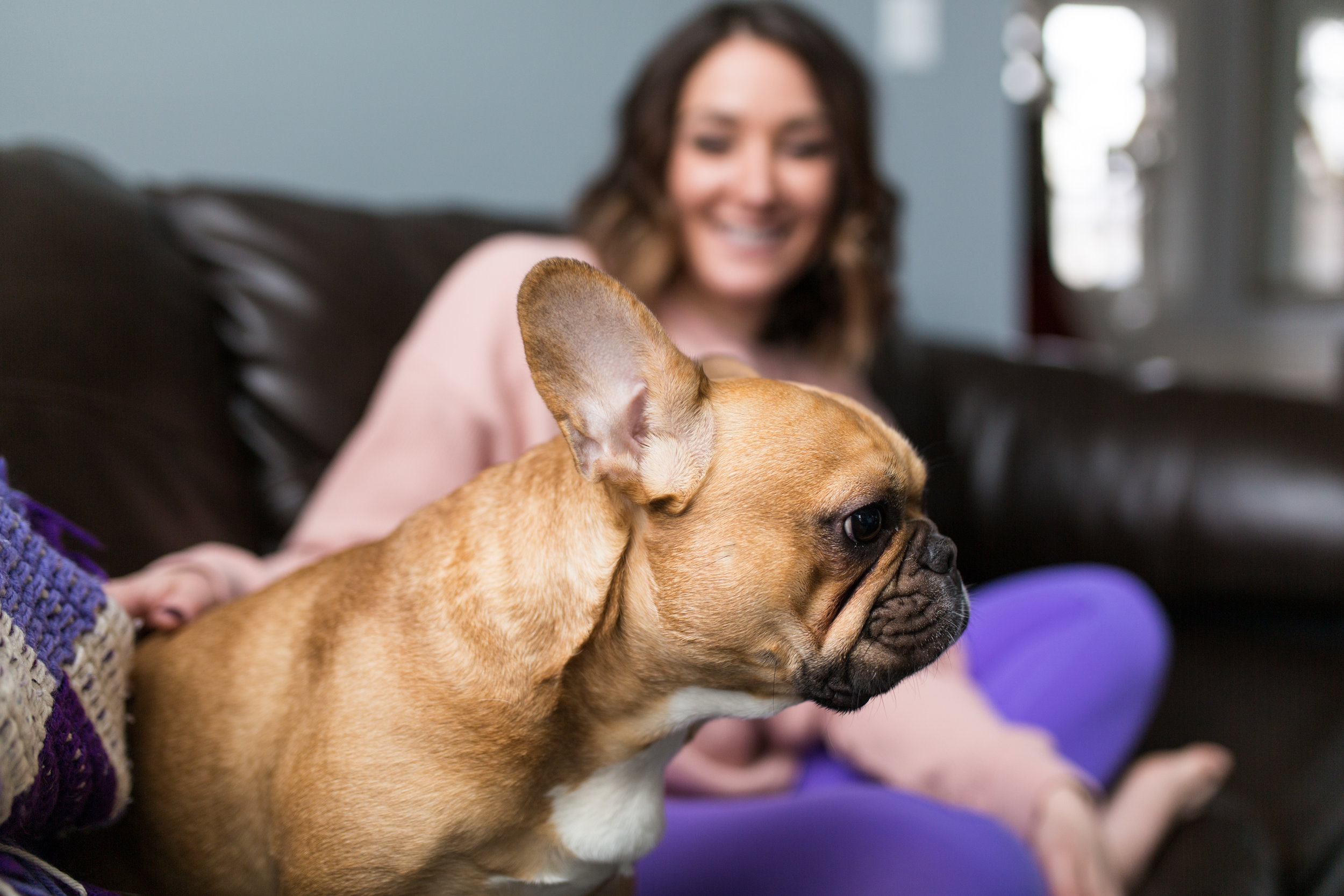 Meet Maria, she's the edgiest ex-cheerleader I know, dog mom to the Rebel, cutest french bulldog ever  (photos of her to will be plentiful I promise!) , and the girl can flip a house like you wouldn't believe. Seriously, her house is beautiful, proof in the photos.