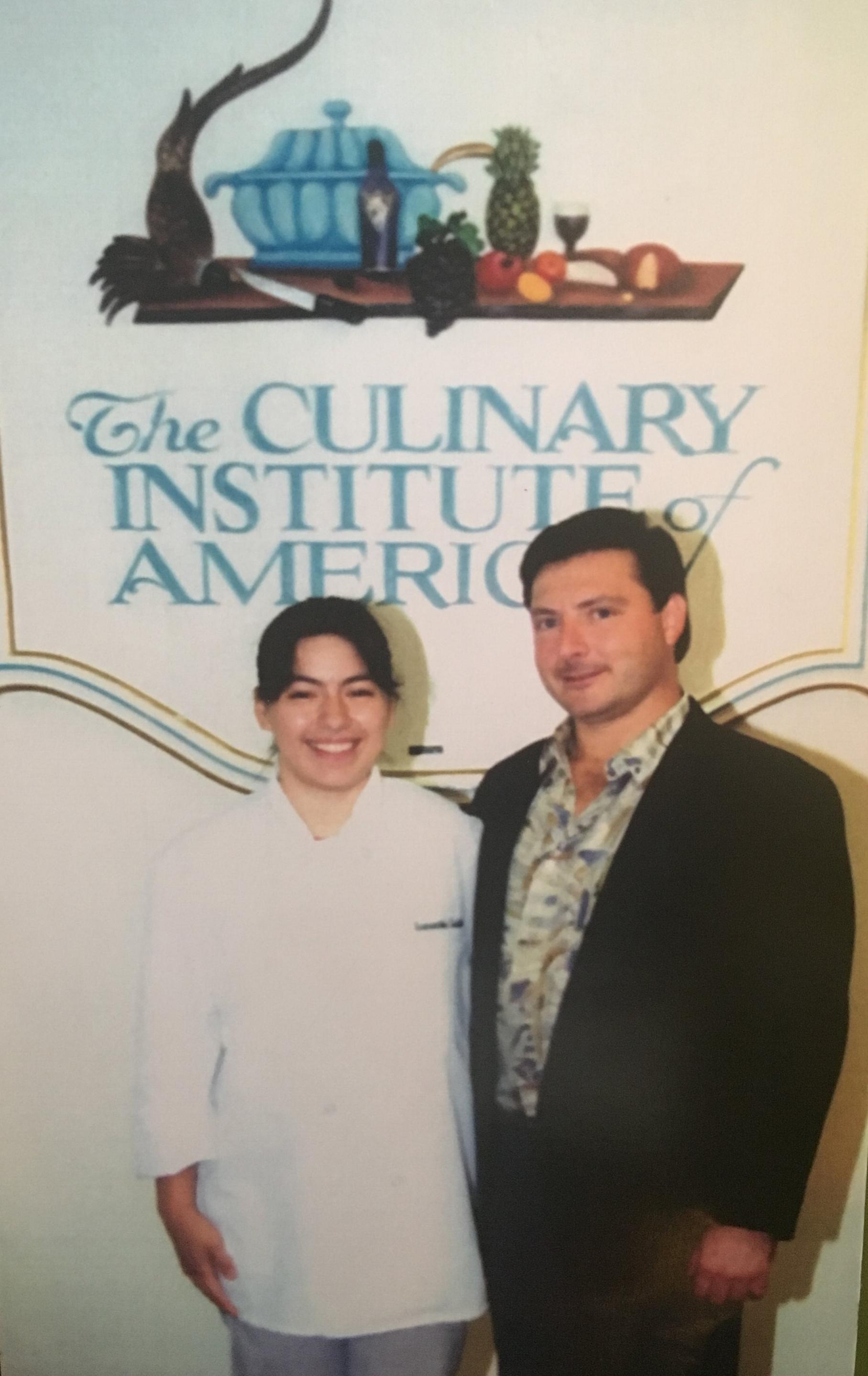 National VICA Gold Medalist 1994, Samantha Castillo, Ocean County Vo-Tech, John Mazur, Jr., New Jersey Retail Bakers