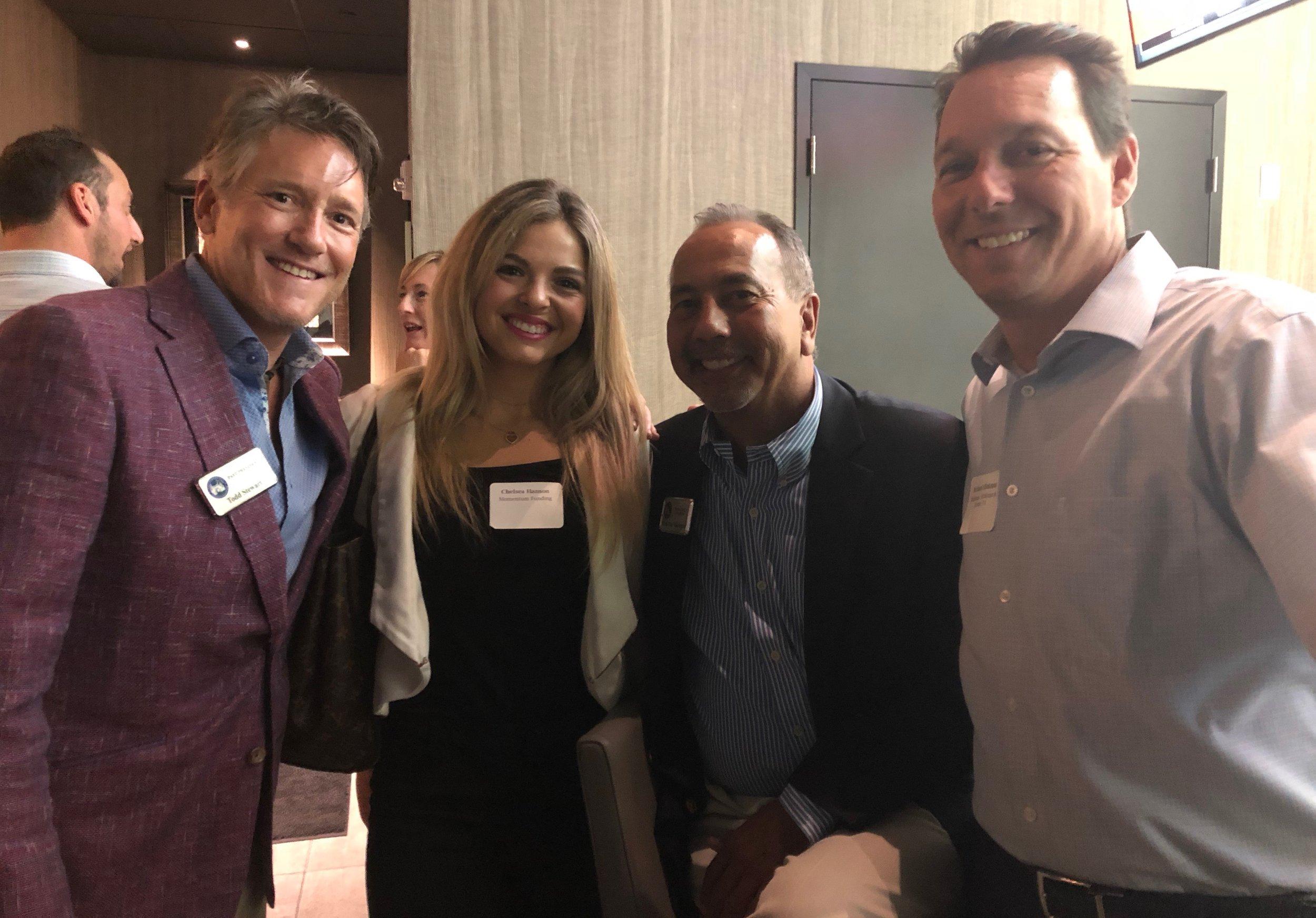 Todd Stewart, Chelsea Hanson, Hank