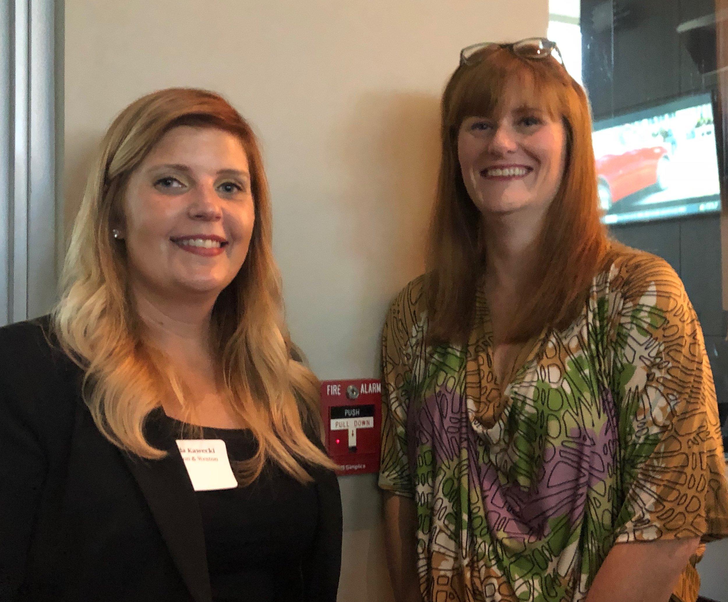 Amanda Kawecki and Keri Norbraten